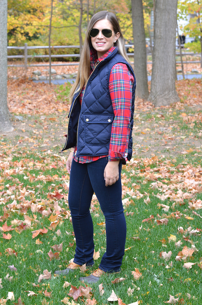 Quilted Vest Amp Plaid Flannel Partial To Pink