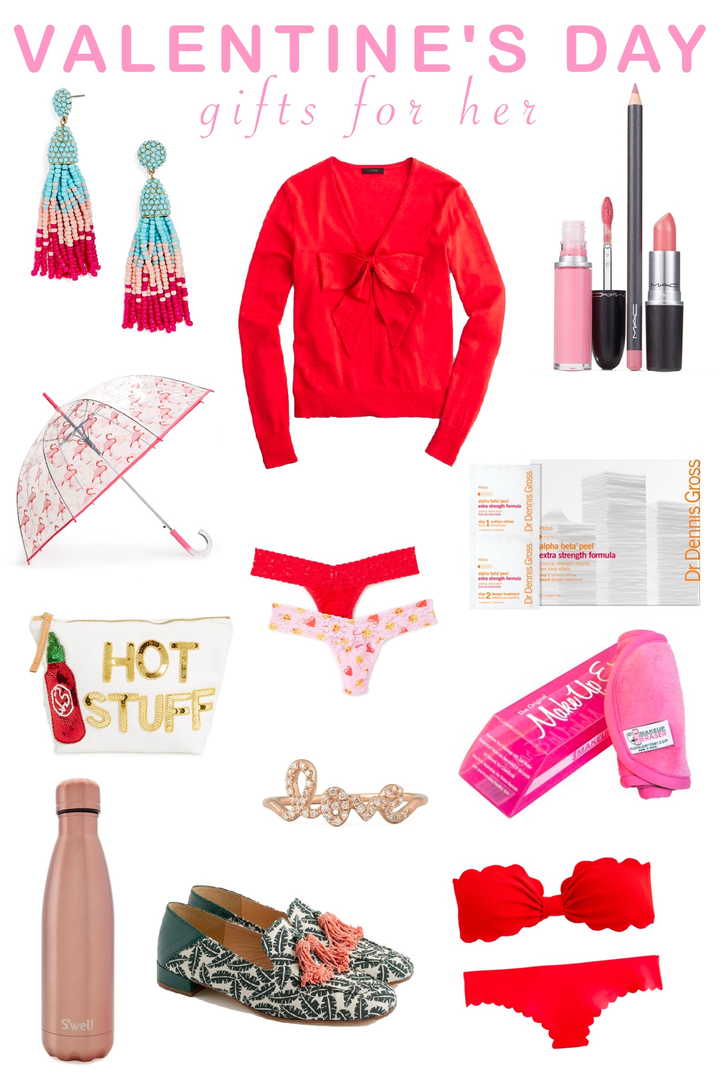 valentine day gifts for her s day gifts for partial to pink 12781